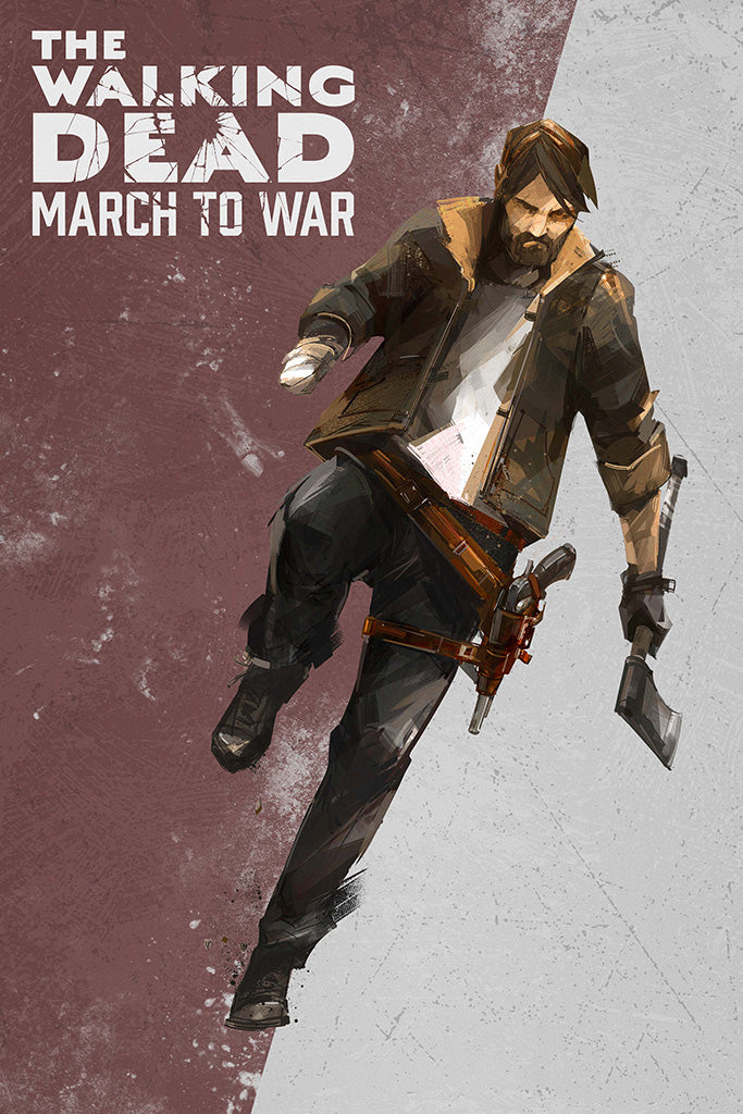 The Walking Dead Video Game Poster
