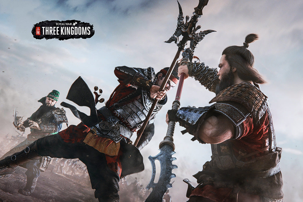 Total War Three Kingdoms Poster