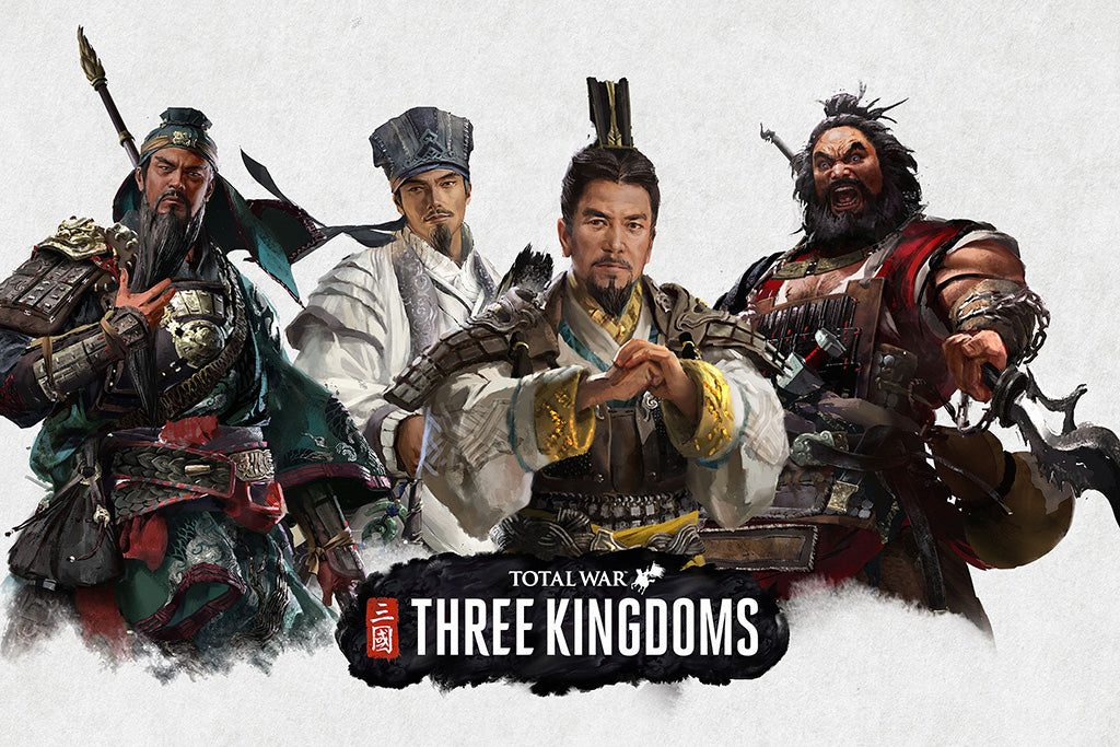 Total War Three Kingdoms Video Game Poster