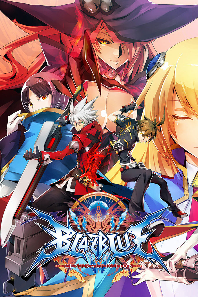BlazBlue Central Fiction Game Poster