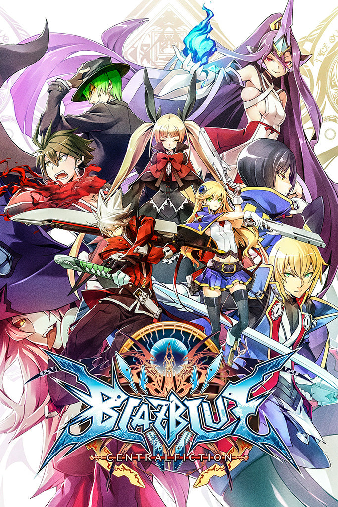 BlazBlue Central Fiction Video Game Poster