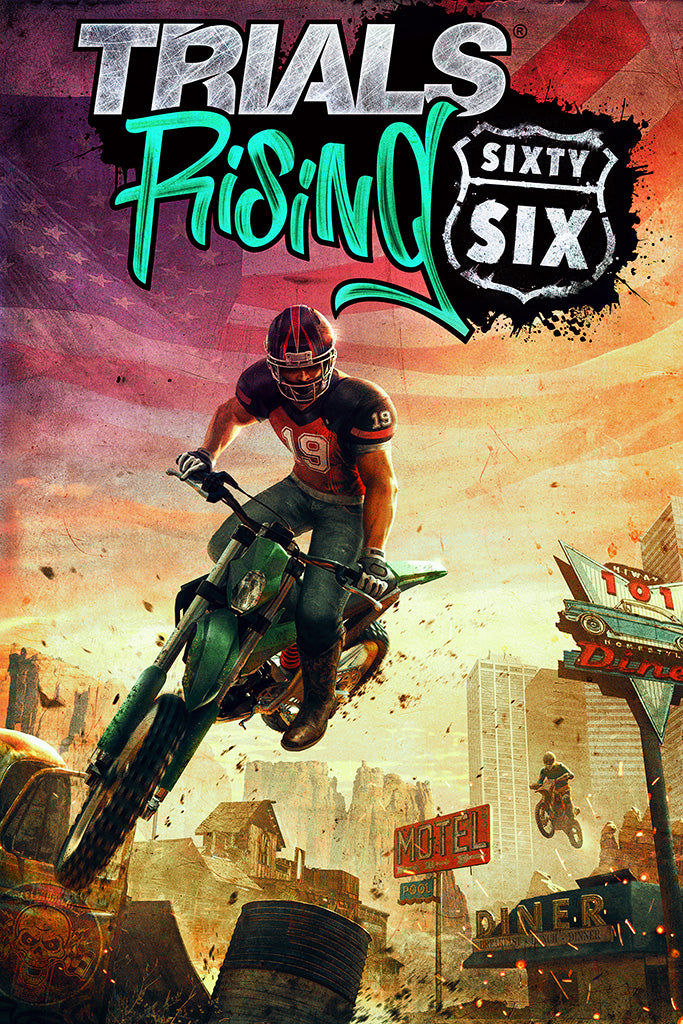 Trials Rising Game Poster