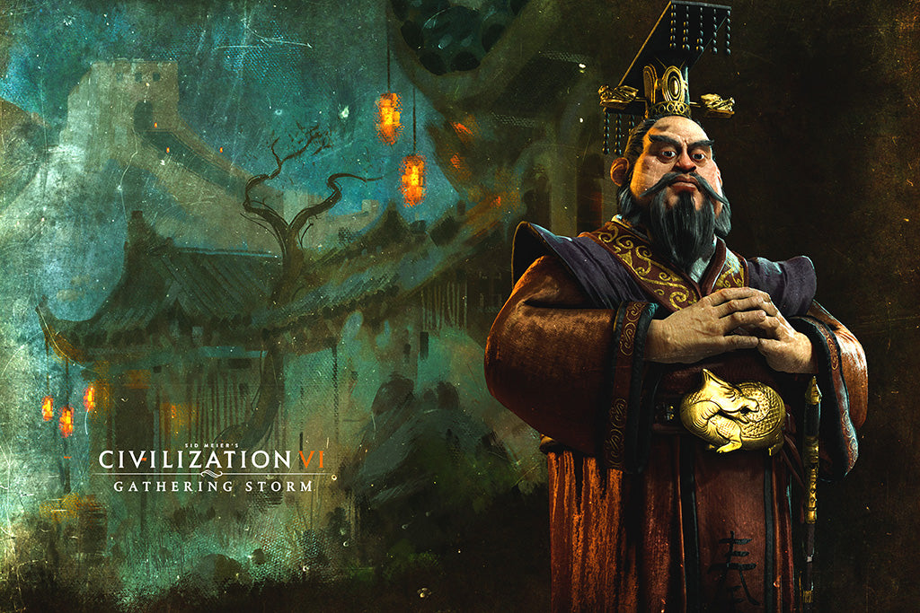 Civilization VI Gathering Storm Game Poster