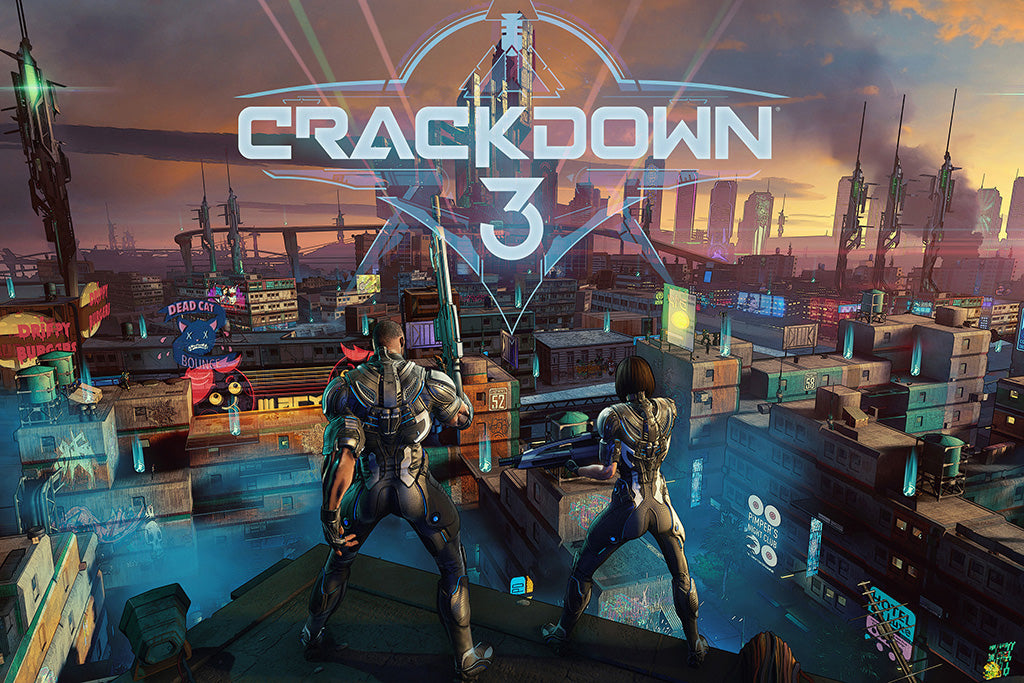 Crackdown 3 Video Game Poster