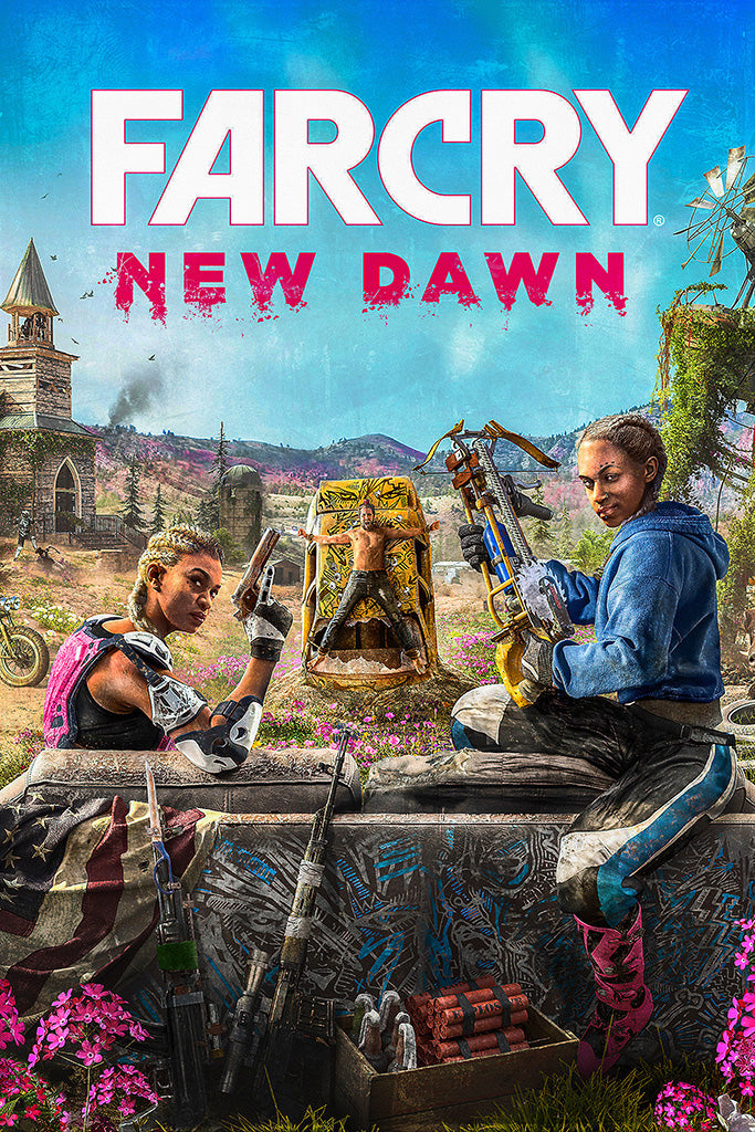 Far Cry New Dawn Game Poster
