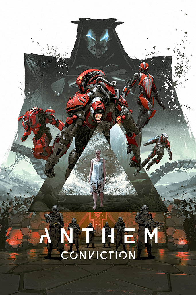 Anthem Video Game Poster