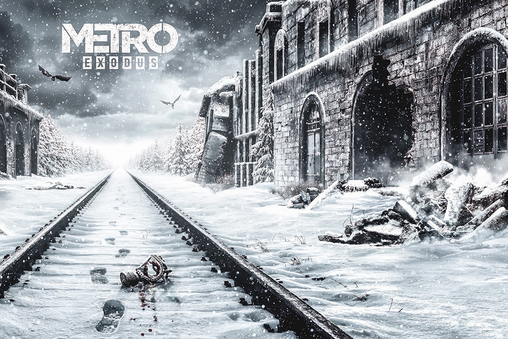 Metro Exodus Video Game Poster