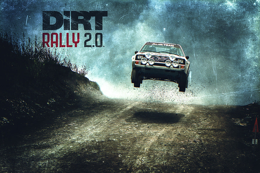 Dirt Rally 2.0 Game Poster