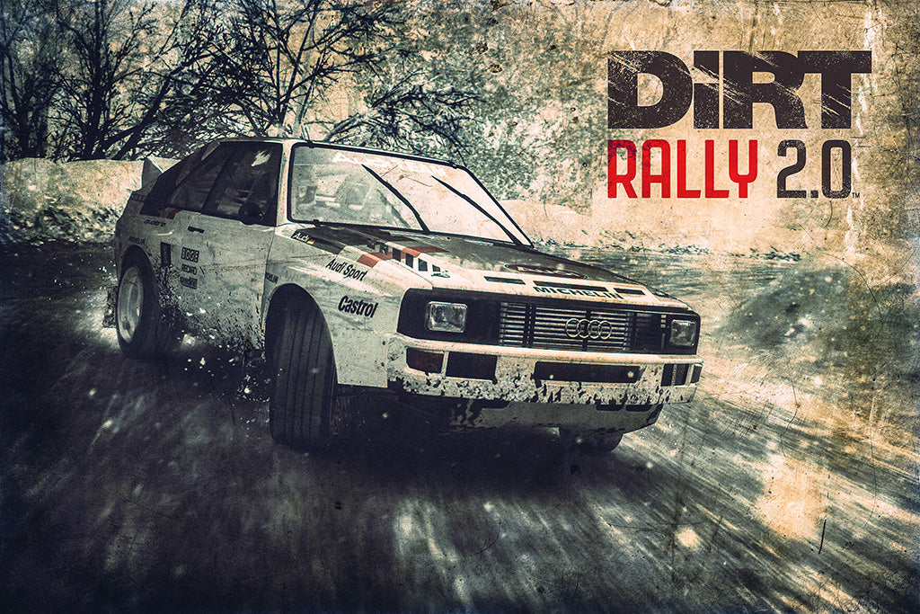 Dirt Rally 2.0 Video Game Poster