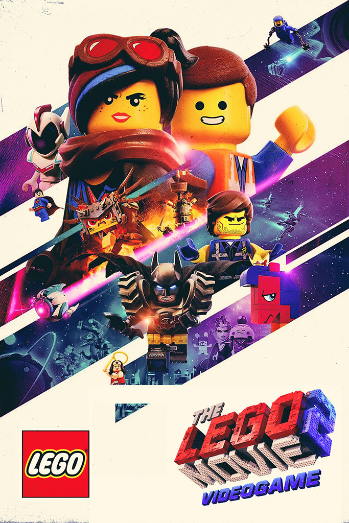 Lego Movie 2 Videogame Poster