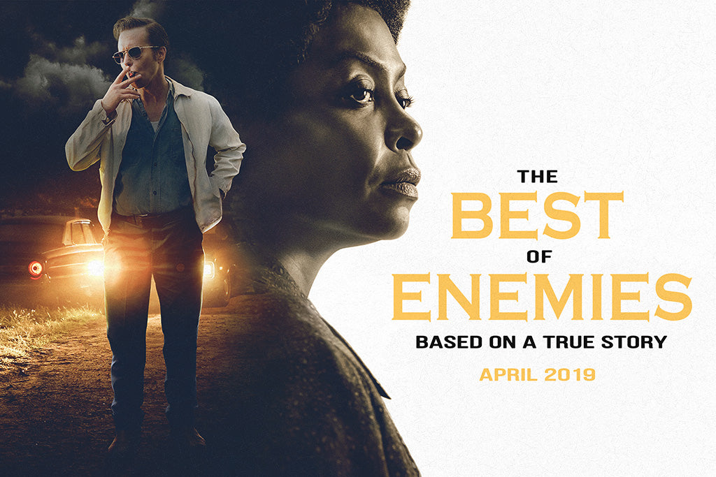 The Best of Enemies Film Poster