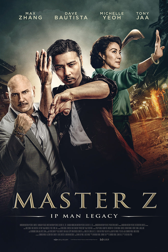 Master Z Ip Man Legacy Movie Poster