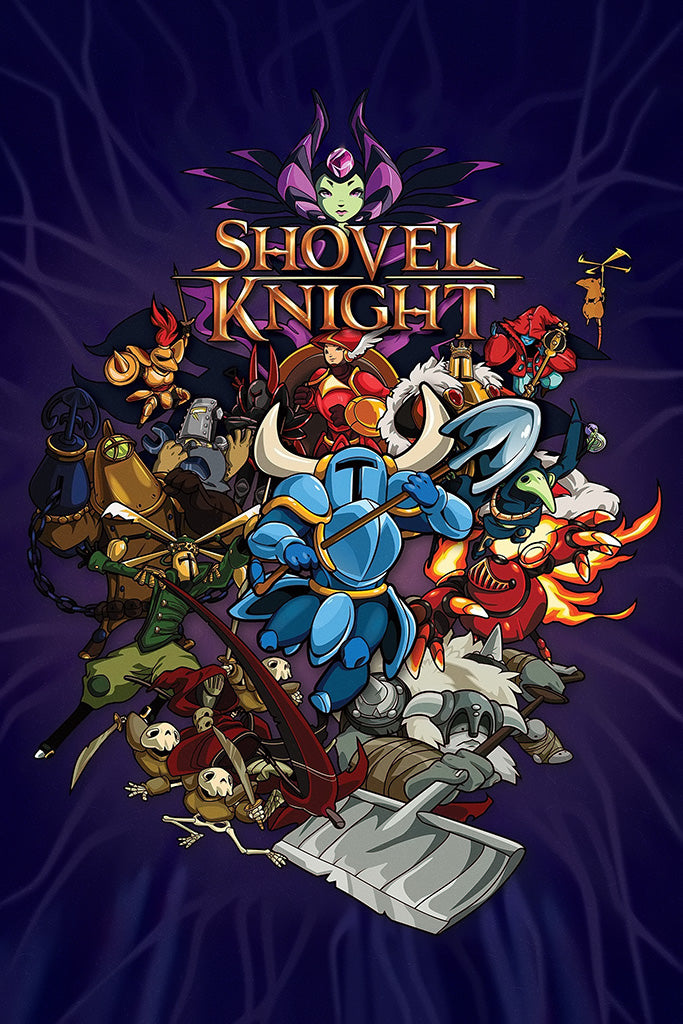 Shovel Knight Showdown Game Poster