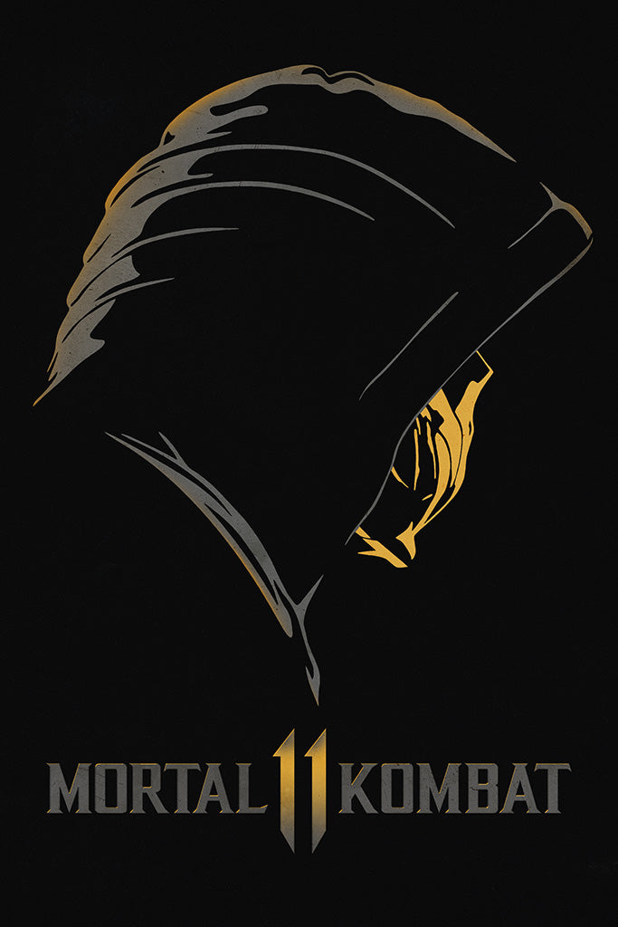 Mortal Kombat 11 Video Game Poster