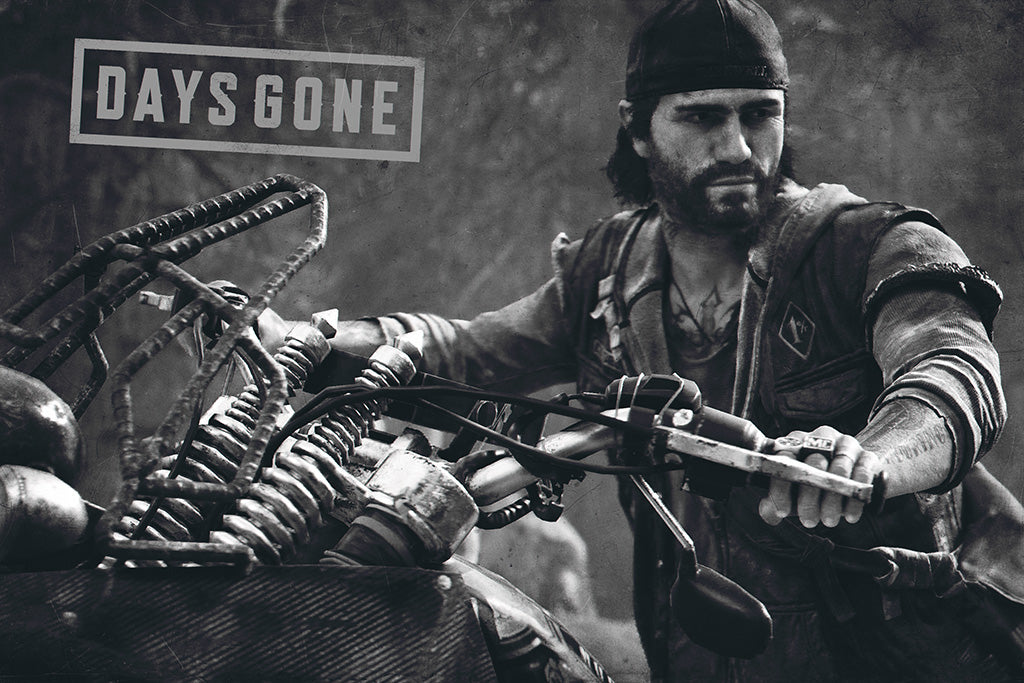 Days Gone Game Poster