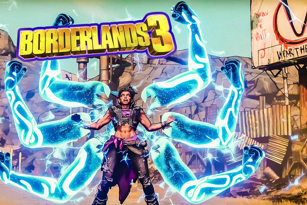 Video Game Borderlands 3 Poster