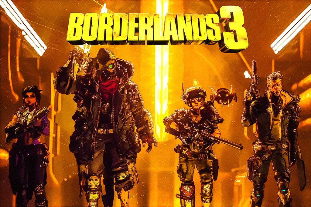 Video Games Borderlands 3 Poster