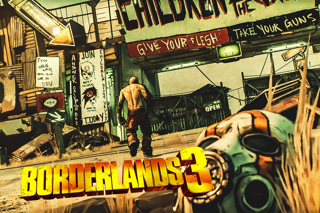Borderlands 3 Games Poster