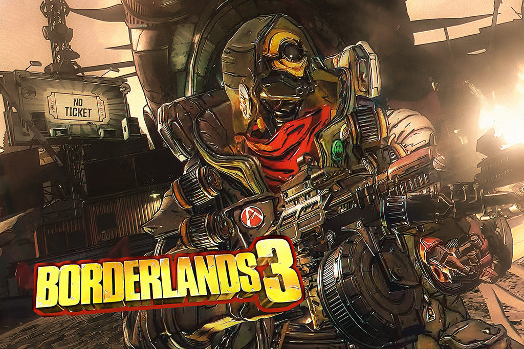 Borderlands 3 Game Poster