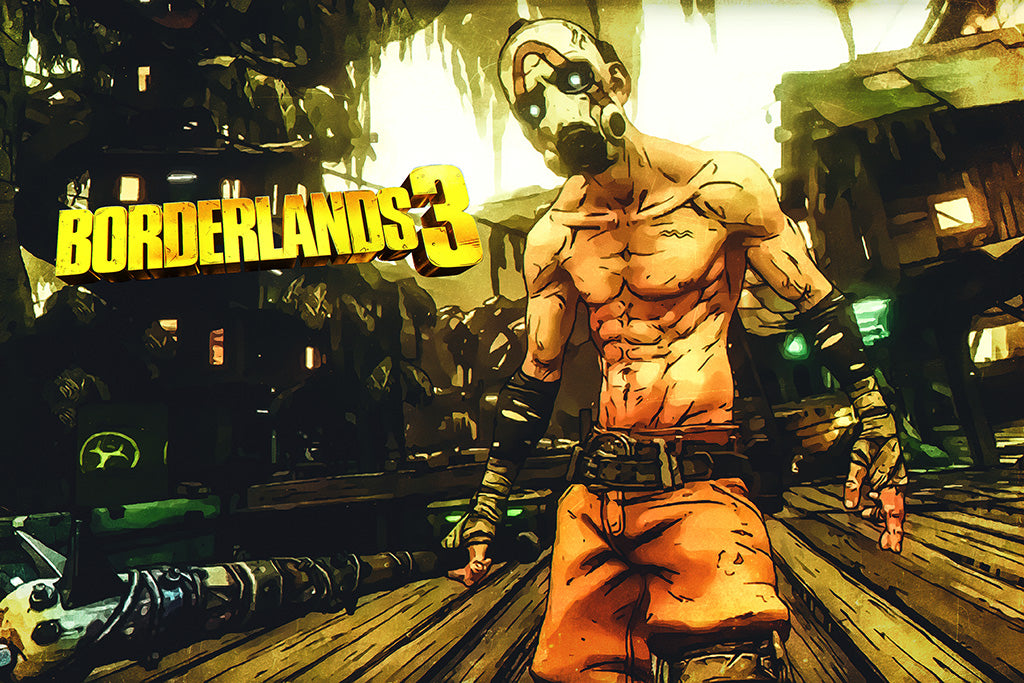 Games Borderlands 3 Poster