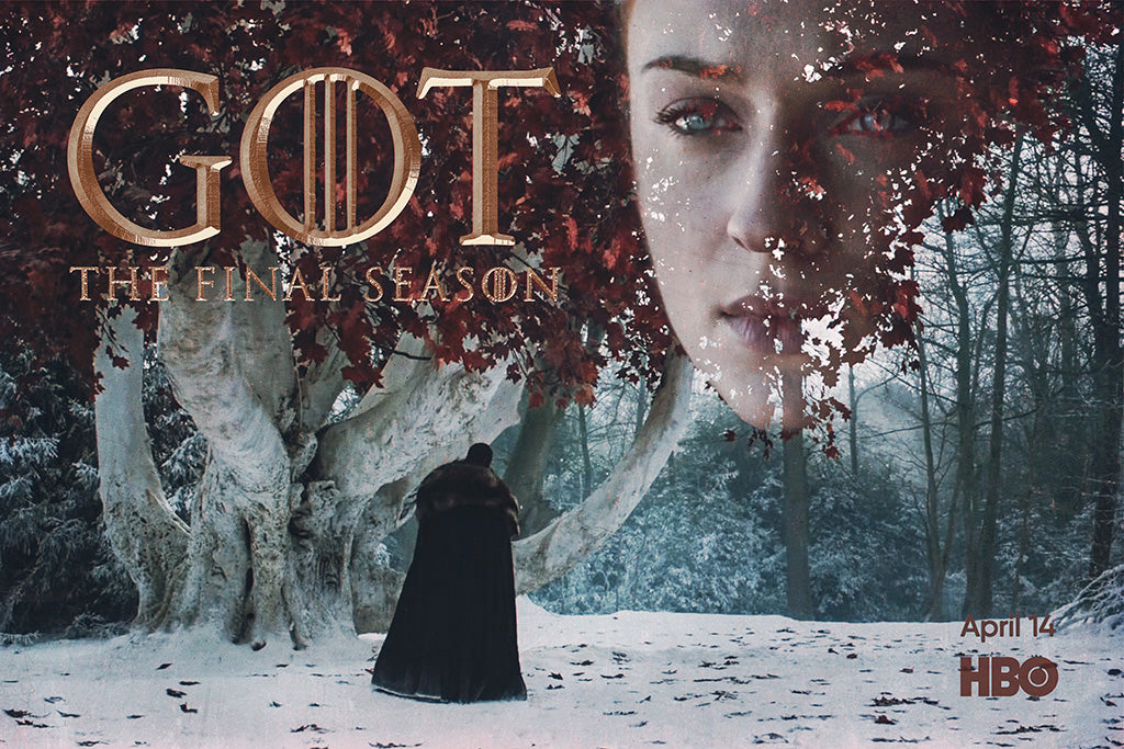 Movie Game of Thrones Season 8 Poster