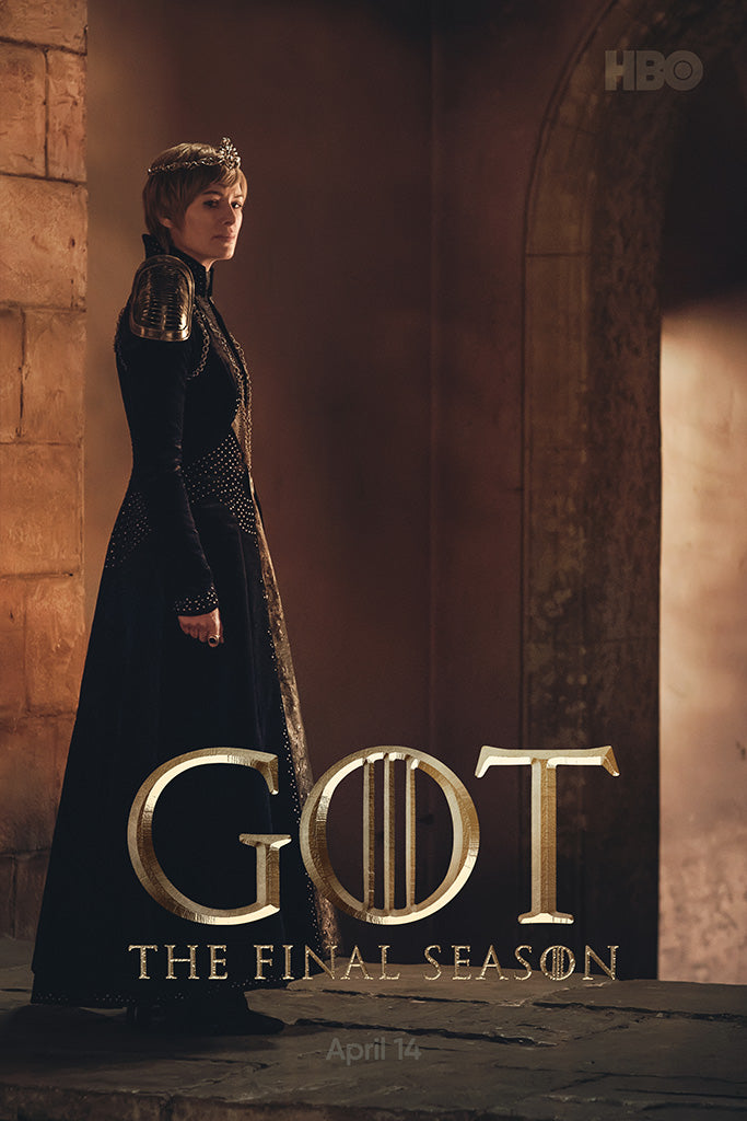 Game of Thrones Season 8 Poster Movie Film