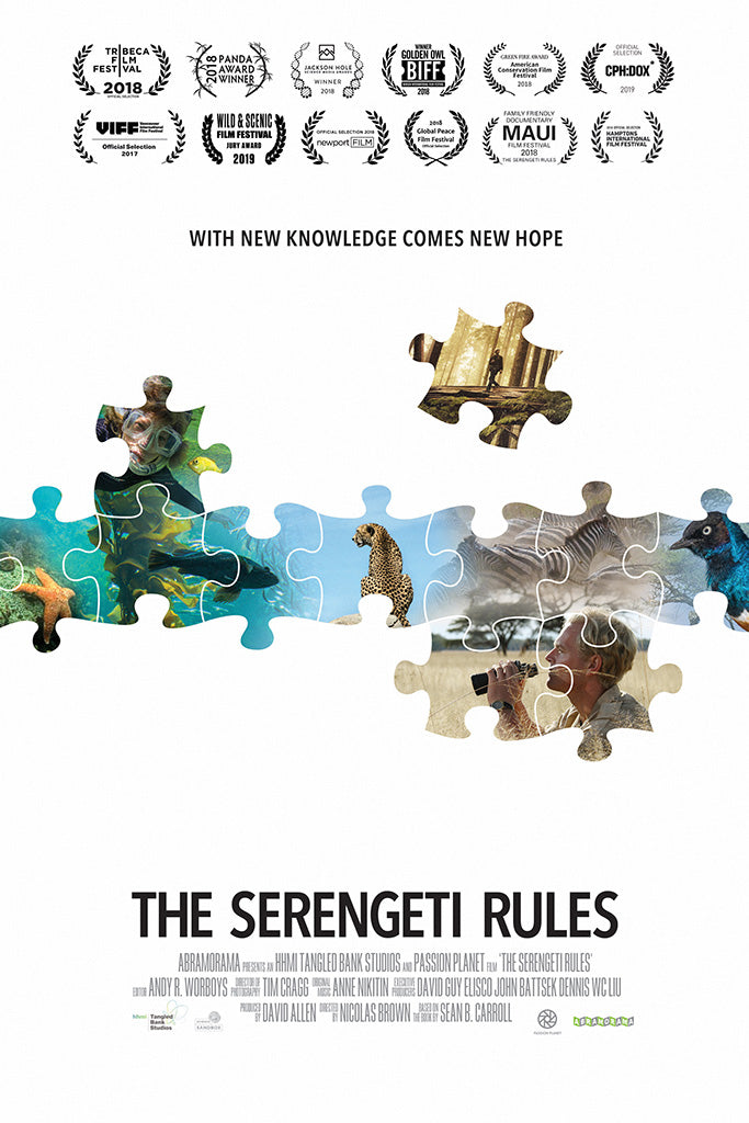 The Serengeti Rules Poster
