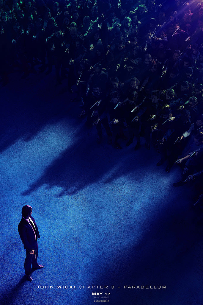 John Wick Chapter 3 - Parabellum Movie Poster