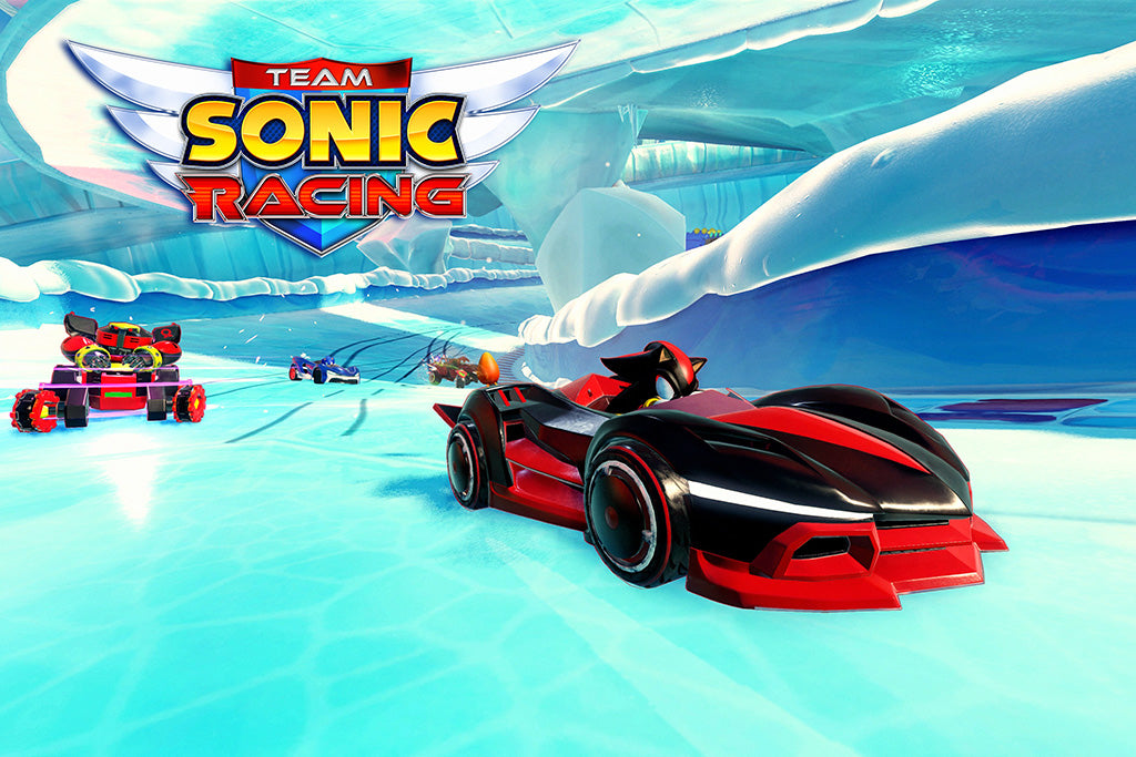 Team Sonic Racing Game Poster