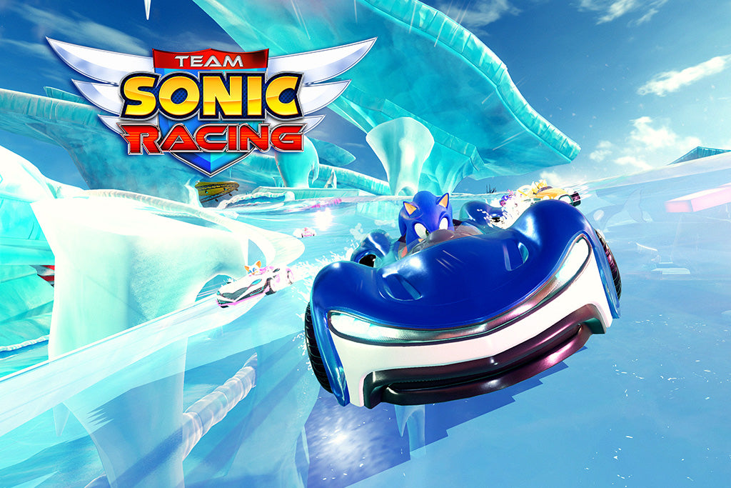 Team Sonic Racing Video Game Poster
