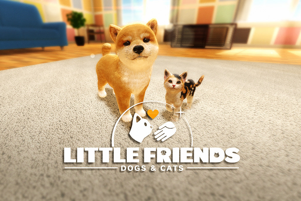 Little Friends Dogs & Cats Game Poster