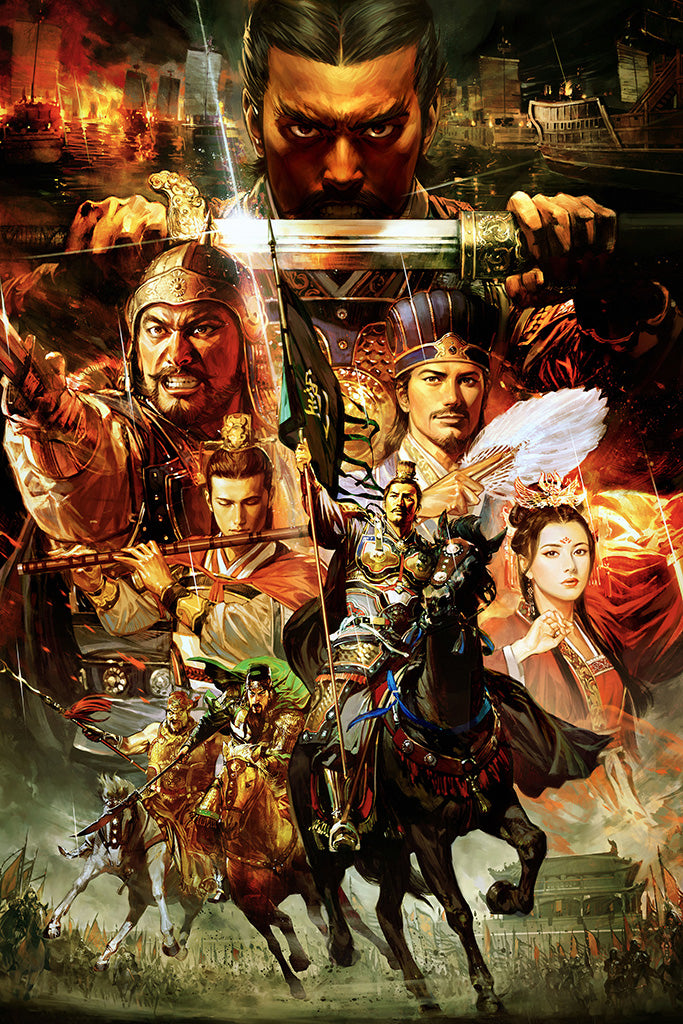 Total War Three Kingdoms Game Poster