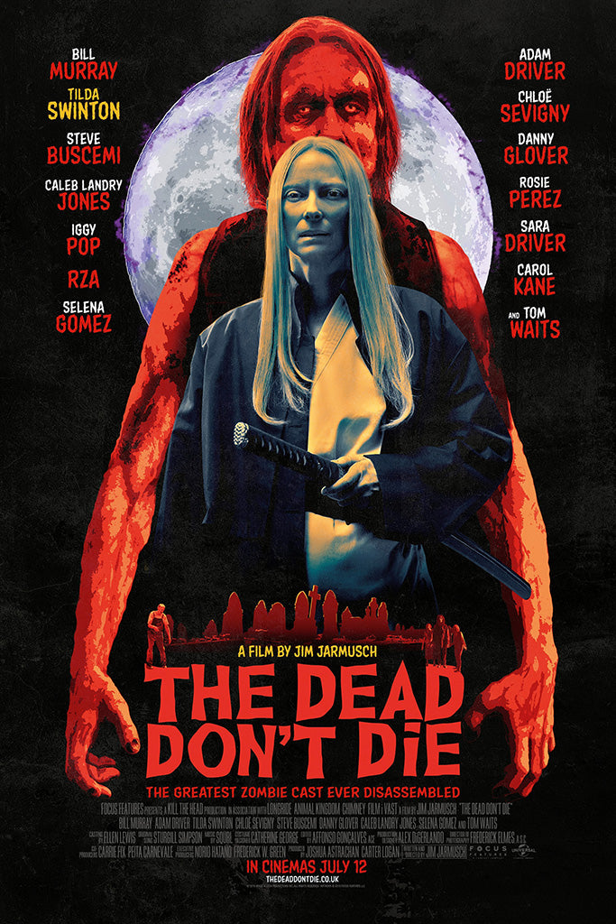 The Dead Don't Die 2019 Film Poster