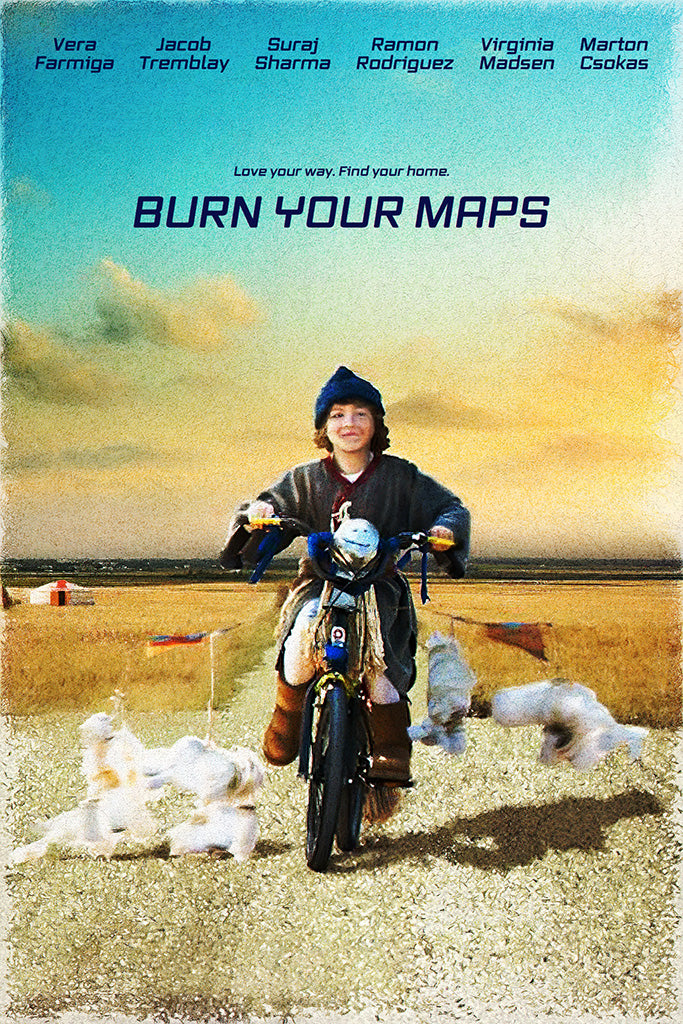 Burn Your Maps 2019 Film Poster