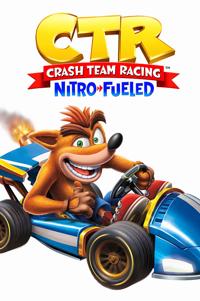 Crash Team Racing Nitro Fueled 2019 Video Game Poster