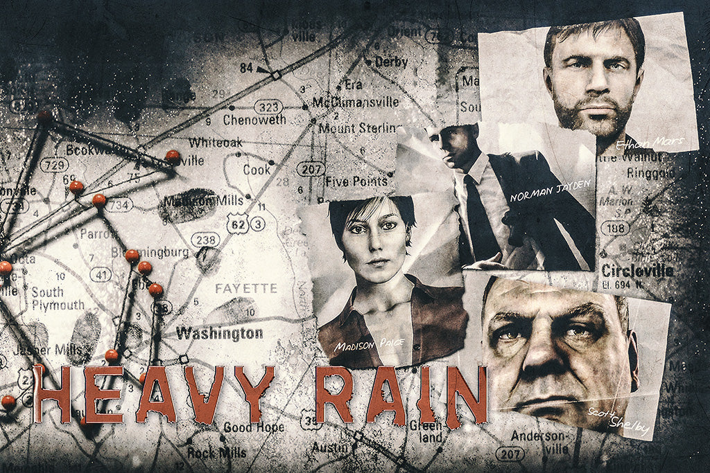 Heavy Rain Game Poster