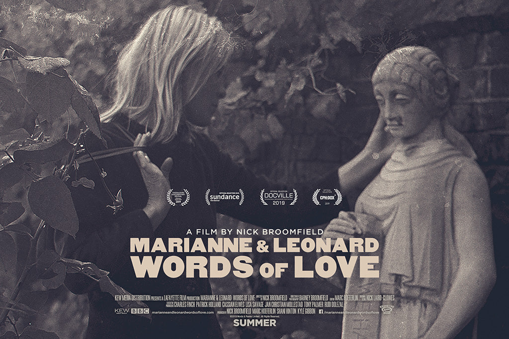 Marianne & Leonard Words of Love 2019 Film Poster