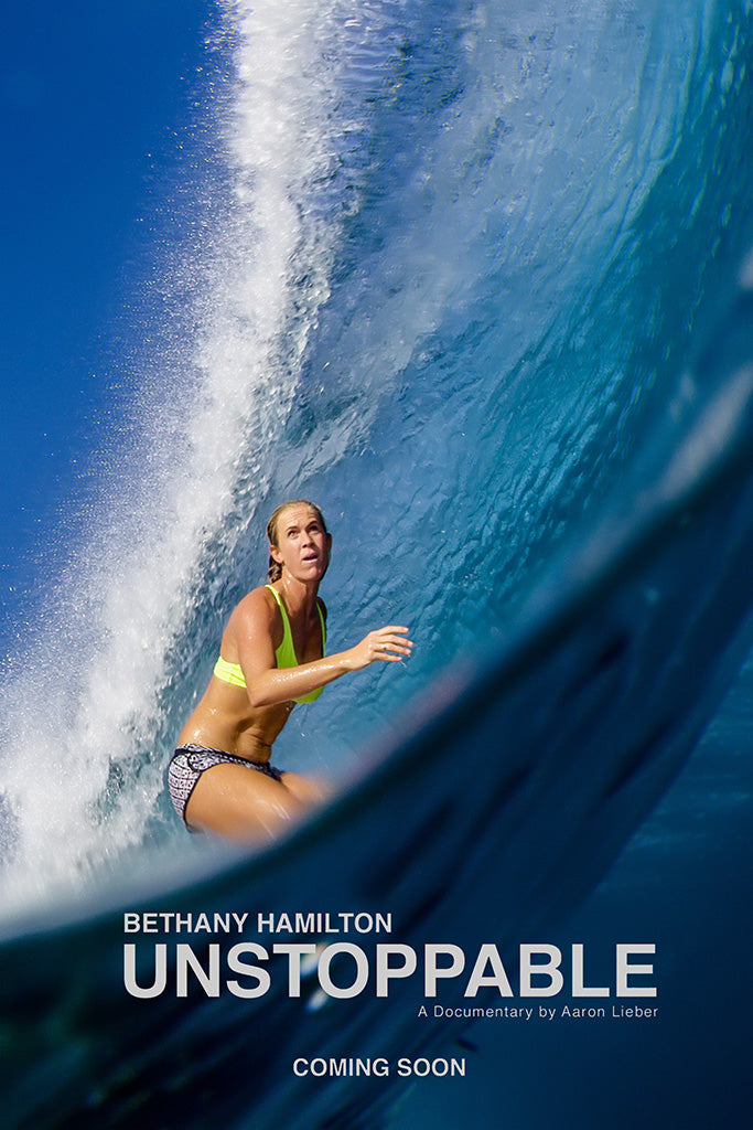 Bethany Hamilton Unstoppable 2019 Film Poster