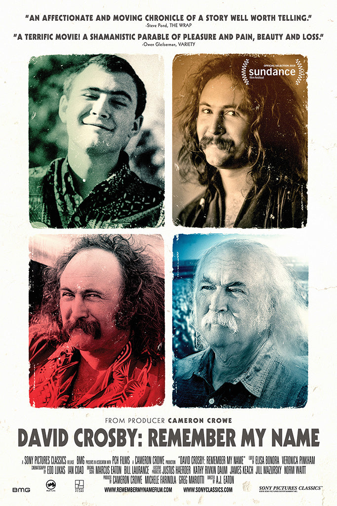 David Crosby Remember My Name Poster