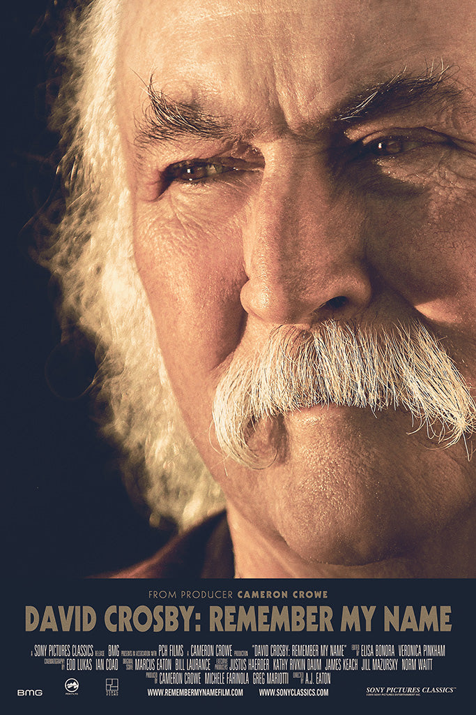 David Crosby Remember My Name 2019 Film Poster