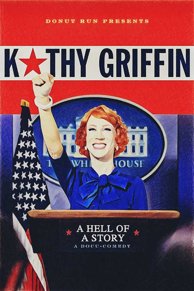 Kathy Griffin A Hell of a Story Poster