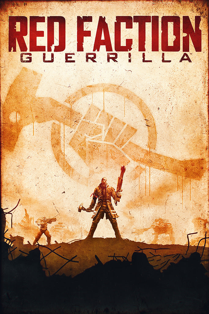 Red Faction Guerrilla Poster