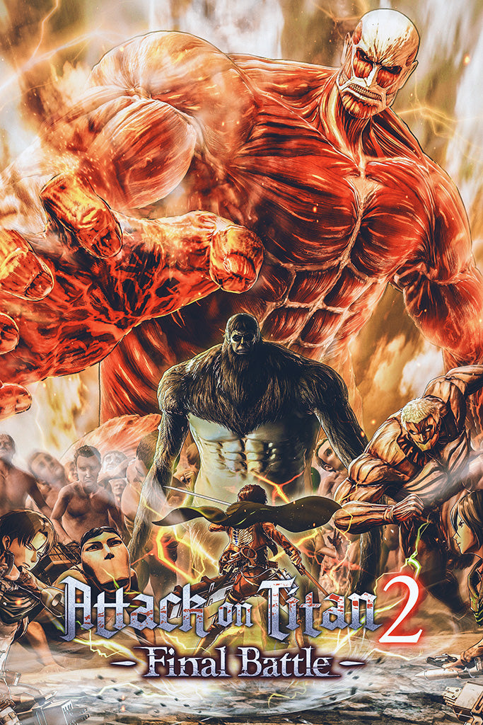 Attack on Titan 2 Final Battle Poster