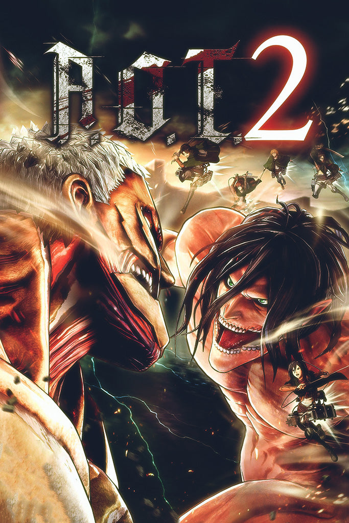 Attack on Titan 2 Final Battle Game Poster