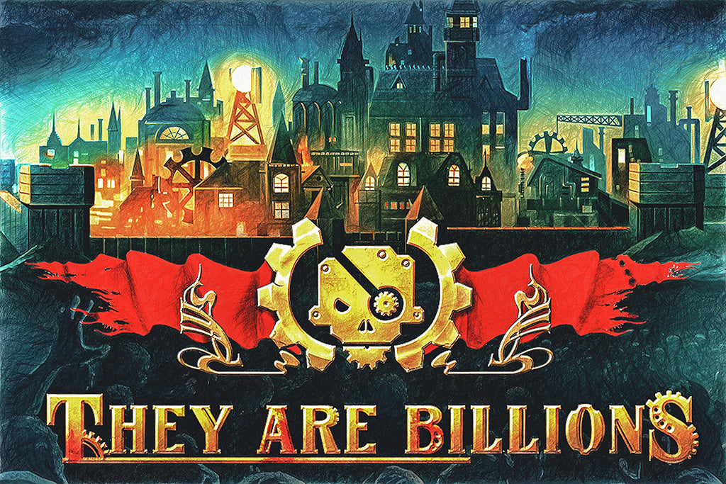 They Are Billions Game Poster