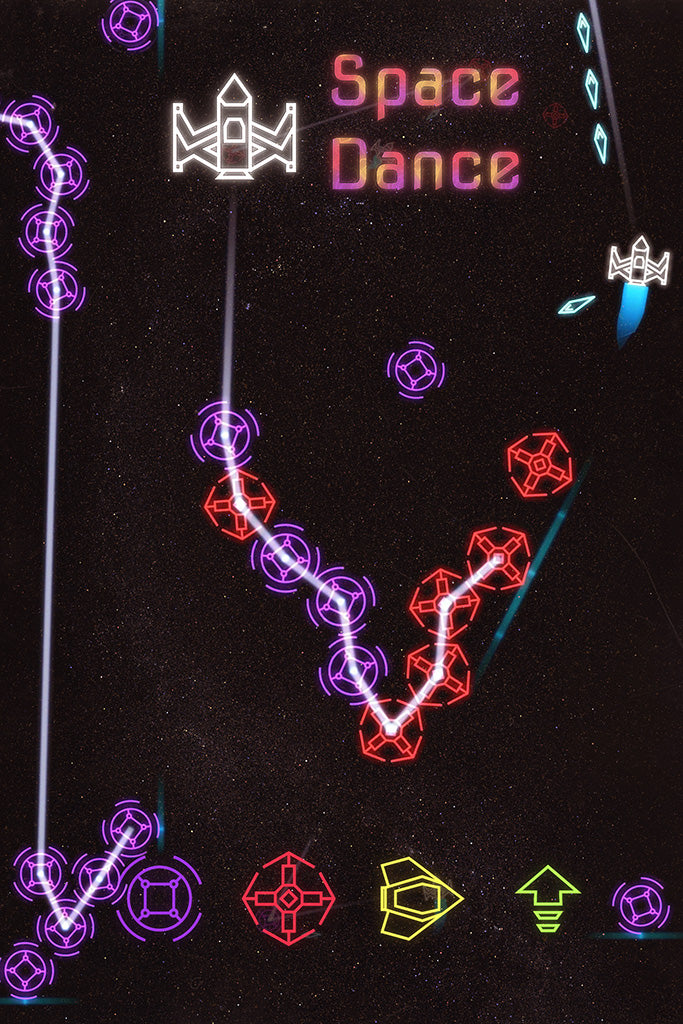 Space Dance Game Poster
