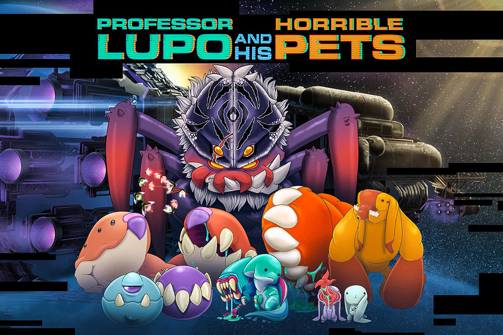 Professor Lupo and his Horrible Pets Poster