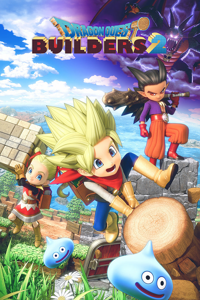 Dragon Quest Builders 2 Game Poster