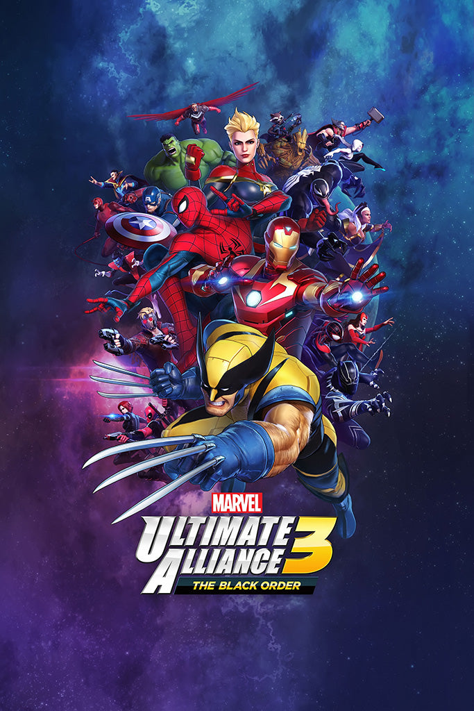 Marvel Ultimate Alliance 3 The Black Order Poster