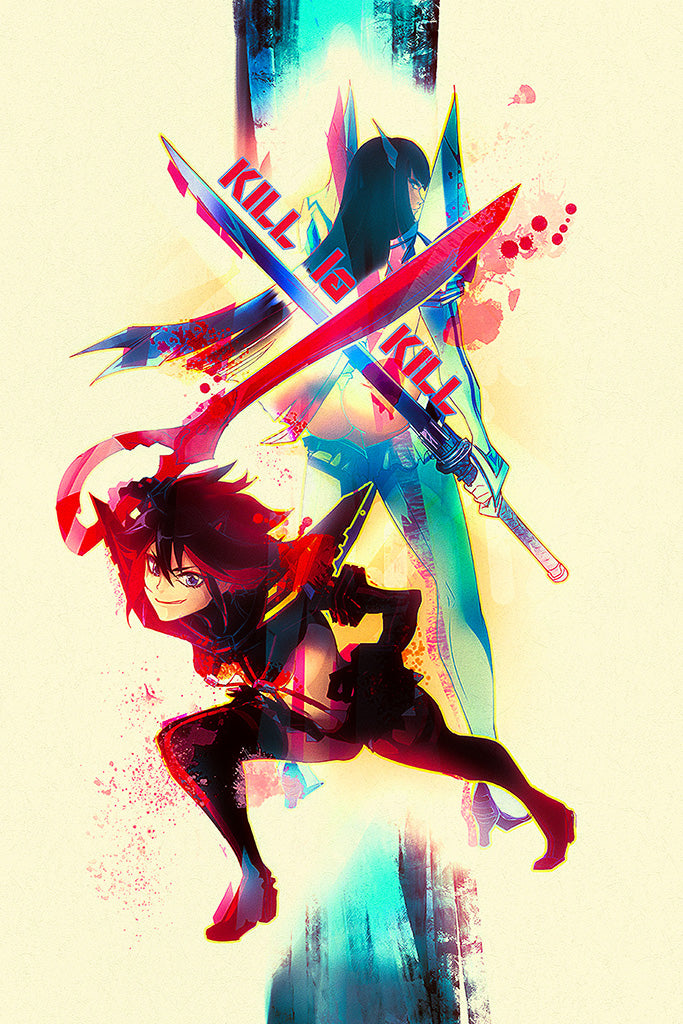 Kill La Kill - If Video Game Poster